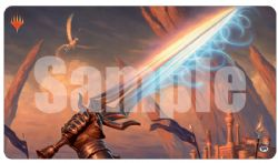 PLAY MAT -  MTG MODERN HORIZONS - SWORD OF TRUTH AND JUSTICE PLAYMAT (24