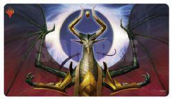 PLAY MAT -  MTG WAR OF THE SPARK - NICOL BOLAS, DRAGON-GOD PLAYMAT (24