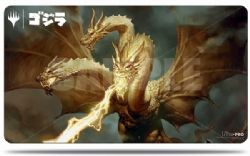 PLAY MAT -  PLAYMAT WITH TUBE - MTG - GHIDORAH, KING OF THE COSMOS (24
