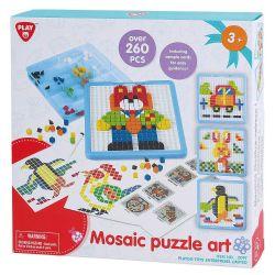 PLAYGO -  MOSAIC PUZZLE ART (260 PCS)