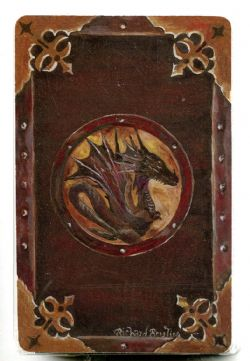 PLAYING CARDS -  DRAGON (RICHARD BOUTIN)