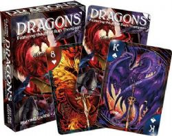 PLAYING CARDS -  DRAGONS