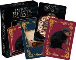 PLAYING CARDS -  FANTASTIC BEASTS CREATURES