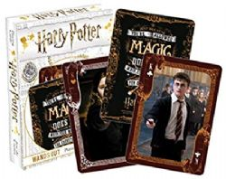 PLAYING CARDS -  WANDS OUT -  HARRY POTTER