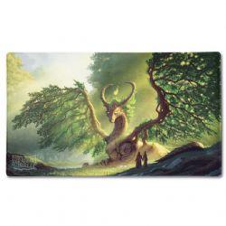 PLAYMAT -  'LAIMA' - GREEN -  DRAGON SHIELD