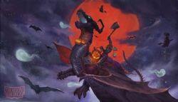 PLAYMAT -  DRAGON SHIELD - HALOWEEN DRAGON - LIMITED EDITION