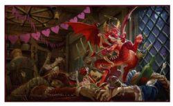 PLAYMAT -  DRAGON SHIELD - VALENTINE DRAGON - LIMITED EDITION