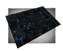 PLAYMAT -  FLG MATS - ROBOT CITY - BLUE (4'X6')