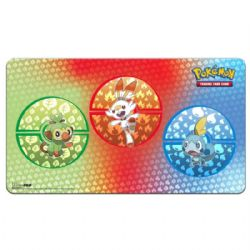 PLAYMAT -  PLAYMAT: POKEMON SWORD AND SHIELD GALAR STARTERS - 24