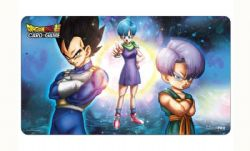 PLAYMAT -  ULTRA PRO: DRAGON BALL SUPER PLAYMAT - BULMA, VEGETA, AND TRUNKS (24