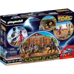 PLAYMOBIL -  ADVENT CALENDAR - BACK TO THE FUTURE III 70576