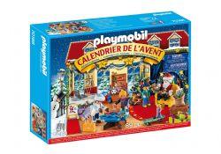 PLAYMOBIL -  ADVENT CALENDAR - CHRISTMAS TOY STORE  70188 70187