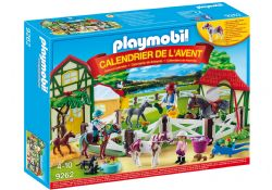 PLAYMOBIL -  ADVENT CALENDAR - HORSE FARM 9262
