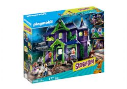 PLAYMOBIL -  ADVENTURE IN THE MYSTERY MANSION (177 PIECES) -  SCOOBY-DOO! 70361