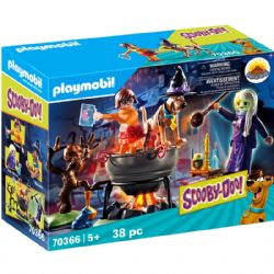 PLAYMOBIL -  ADVENTURE IN THE WITCH'S CAULDRON (38 PIECES) 70366