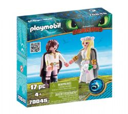 PLAYMOBIL -  ASTRID AND HICCUP (17 PIECES) 70045