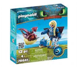 PLAYMOBIL -  ASTRID WITH HOBGOBBLER (12 PIECES) 70041