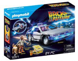 PLAYMOBIL - BACK TO THE FUTURE -  DELOREAN (64 PIECES) 70317