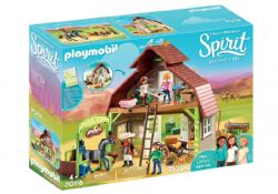 PLAYMOBIL -  BARN WITH LUCKY, PRU & ABIGAIL (153 PIECES) 70118