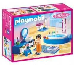 PLAYMOBIL -  BATHROOM WITH TUB 70211