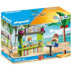 PLAYMOBIL -  BEACH SNACK BAR (66 PIECES) 70437