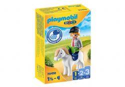 PLAYMOBIL -  BOY WITH PONEY 70410