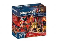 PLAYMOBIL -  BURNHAM RAIDERS FIRE MASTER (29 PIECES) 70228