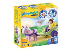 PLAYMOBIL -  CARRIAGE WITH FAIRY AND UNICORN 70401
