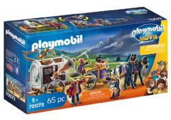 PLAYMOBIL -  CHARLIE WITH PRISON WAGON (65 PIECES) 70073