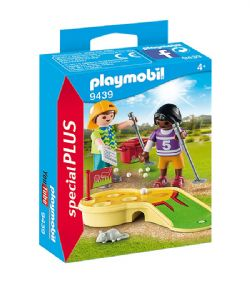 PLAYMOBIL -  CHILDREN MINIGOLFING 9439