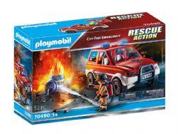 PLAYMOBIL -  CITY FIRE EMERGENCY (52 PIECES) 70490