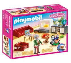 PLAYMOBIL -  COMFORTABLE LIVING ROOM 70207
