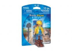 PLAYMOBIL -  CONSTRUCTION WORKER (10 PIECES) 70560