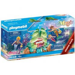 PLAYMOBIL -  CORAL MERMAID LOUNGE (70 PIECES) 70368