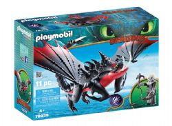 PLAYMOBIL -  DEATHGRIPPER WITH GRIMMEL (11 PIECES) 70039