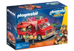 PLAYMOBIL -  DEL'S FOOD TRUCK (110 PIECES) 70075