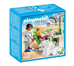 PLAYMOBIL -  DENTIST WITH PATIENT 6662
