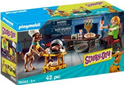 PLAYMOBIL -  DINNER WITH SHAGGY (42 PIECES) 70363