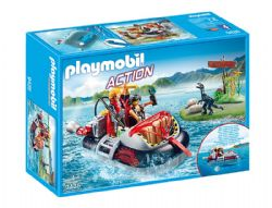 PLAYMOBIL -  DINO HOVERCRAFT WITH UNDERWATER MOTOR 9435