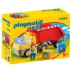 PLAYMOBIL -  DUMP TRUCK 70126