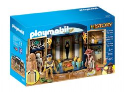 PLAYMOBIL -  EGYPTIAN TOMB PLAY BOX (75 PIECES) 9311