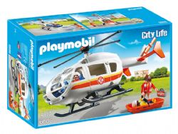 PLAYMOBIL -  EMERGENCY MEDICAL HELICOPTER 6686