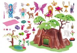 PLAYMOBIL -  FAIRY FOREST HOUSE (123 PIECES) 70001