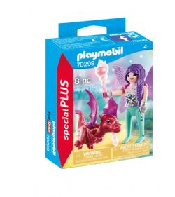 PLAYMOBIL -  FAIRY WITH BABY DRAGON (8 PIECES) 70299