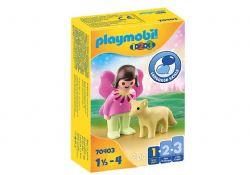 PLAYMOBIL -  FAIRY WITH FOX 70403