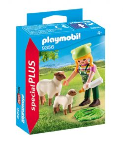 PLAYMOBIL -  FARMER WITH SHEEP 9356