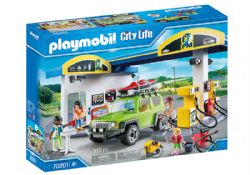 PLAYMOBIL -  GAS STATION (168 PIECES) 70201