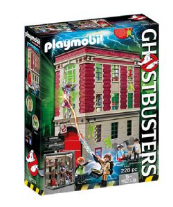 PLAYMOBIL -  GHOSTBUSTERS FIREHOUSE (228 PIECES) 9219
