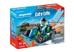 PLAYMOBIL -  GO-KART RACER GIFT SET (38 PIECES) 70292