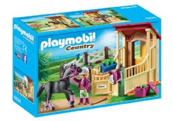 PLAYMOBIL -  HORSE STABLE WITH ARABER 6934